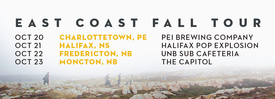Hey Rosetta! Fall Tour dates
