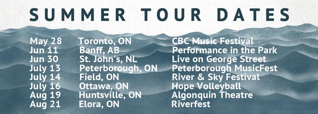 Hey Rosetta! Summer Tour Dates